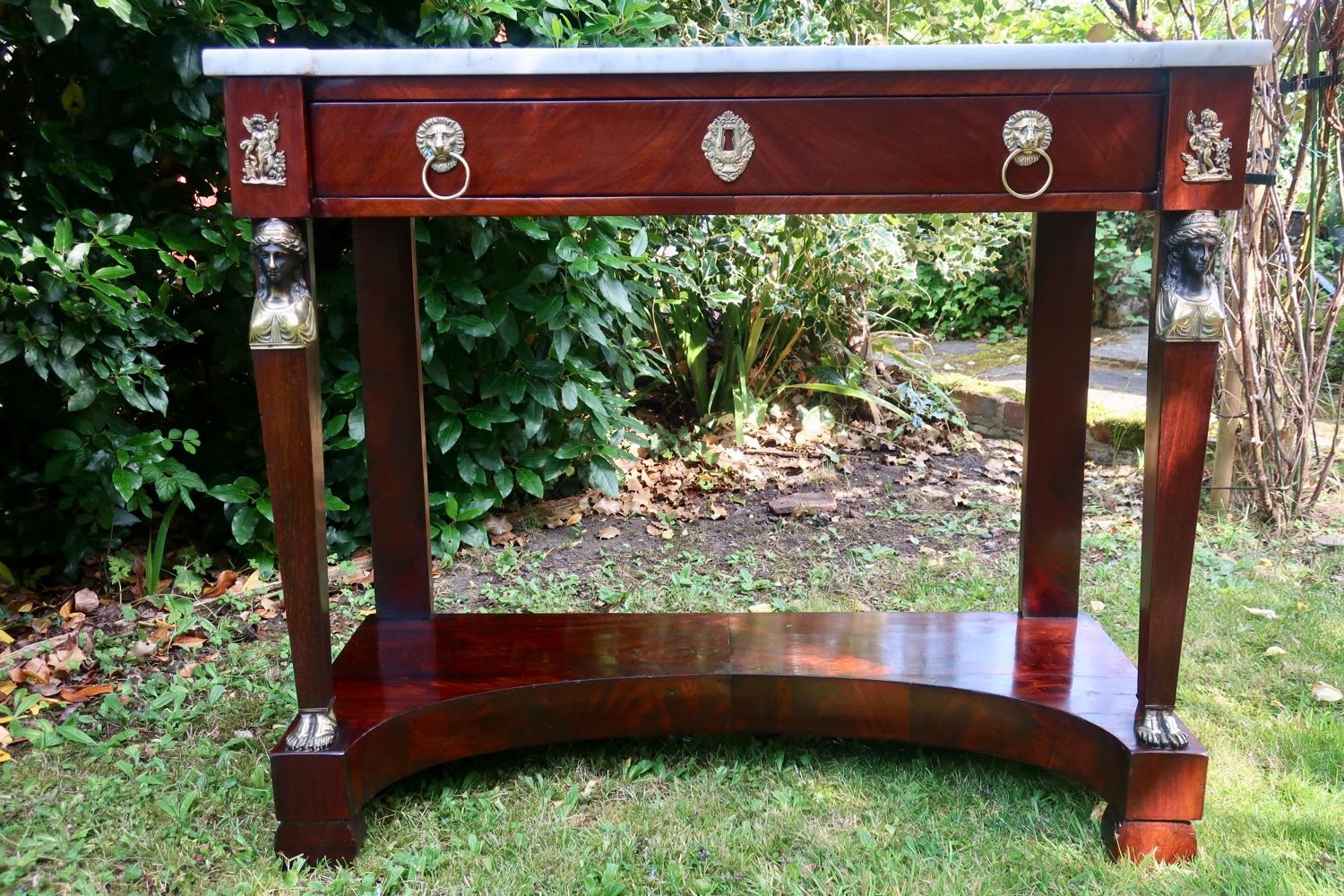 Period French Empire Console Table