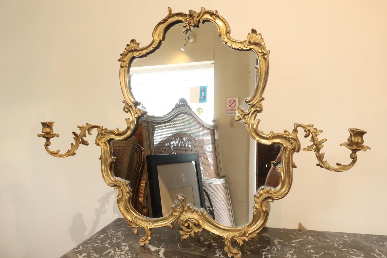Rococo ormolu Vanity Mirror