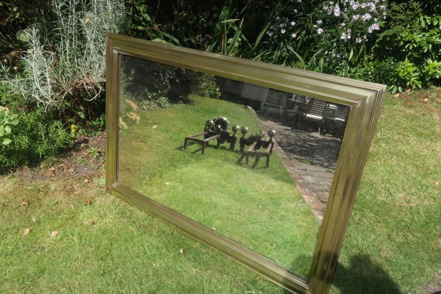Brass Bistro Mirror