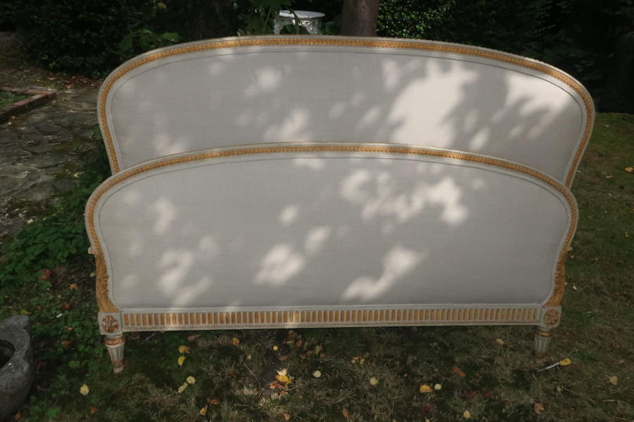 French original paint and gilt Kingsize bed