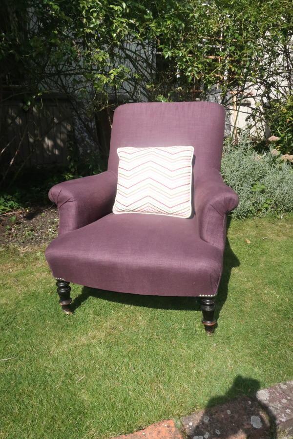 French Napoleon lll armchair