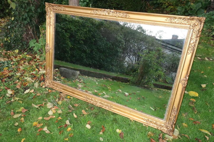Large landscape mirror
