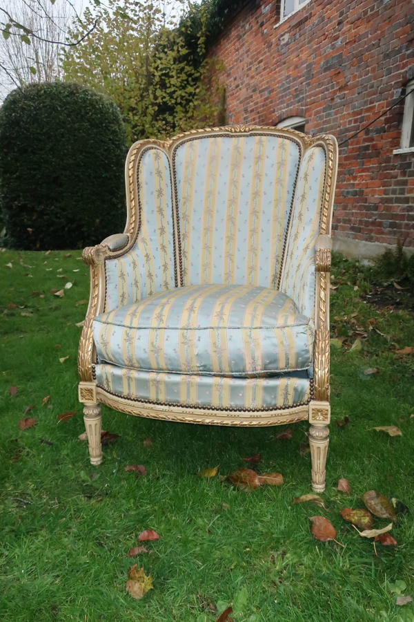 French Bergere armchair