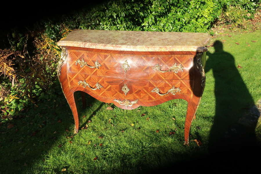 Parquetry commode
