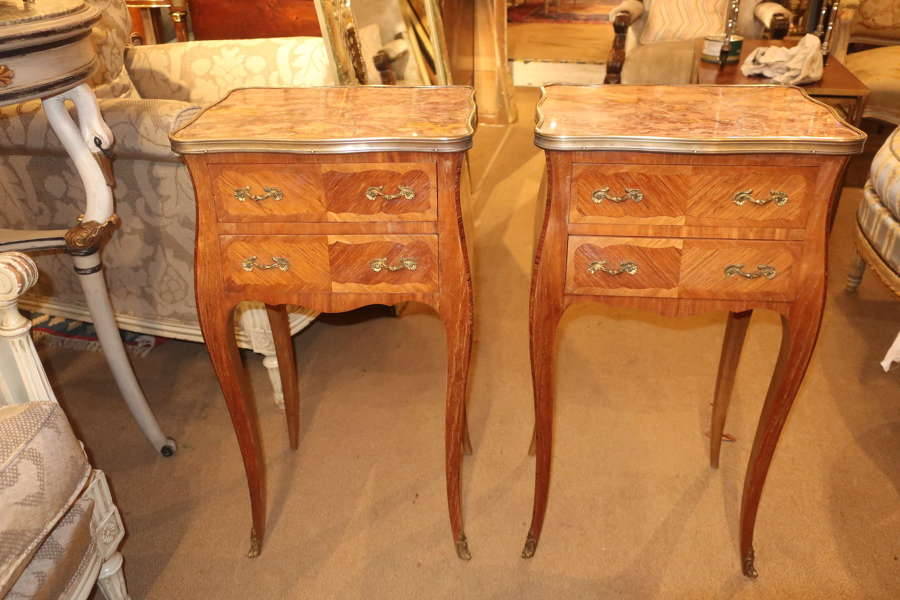 Pair of Kingwood bedside tables