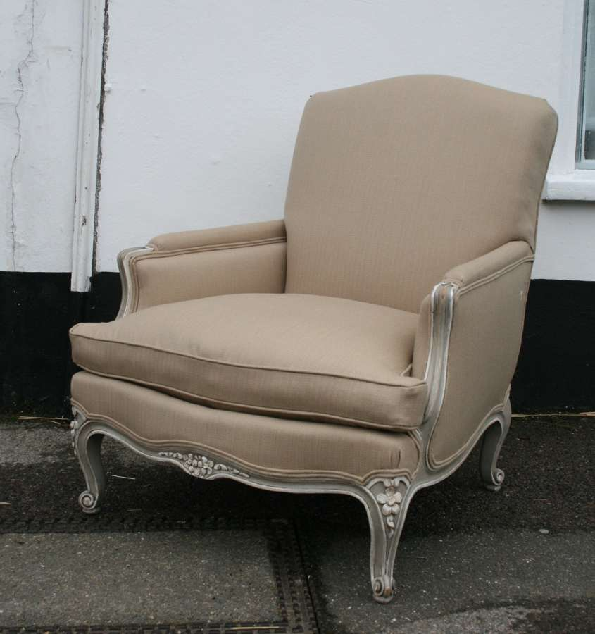 Large and very comfortable louis style armchair