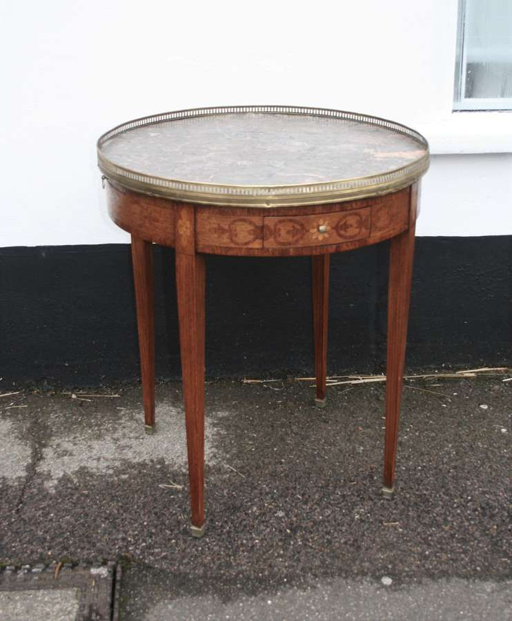 French occasional table or bouilliot