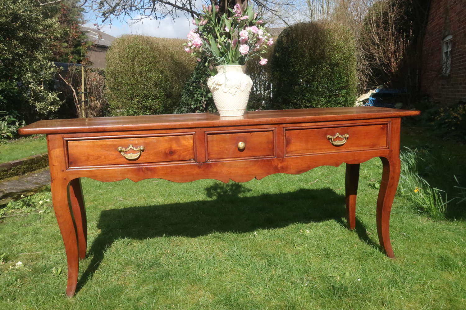 Cherrywood serving table