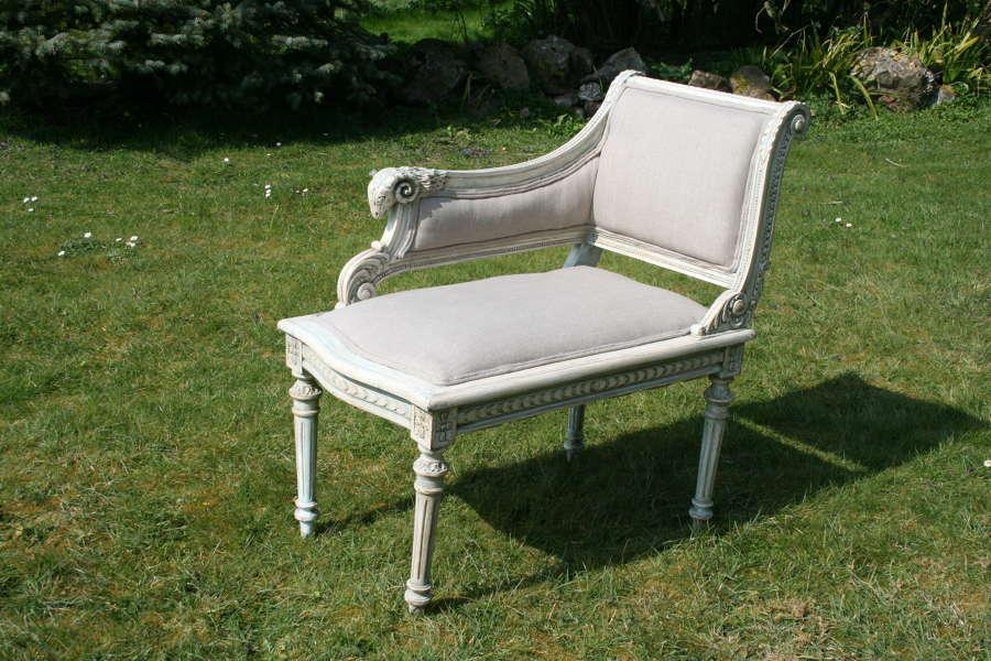 Pretty french corner chair