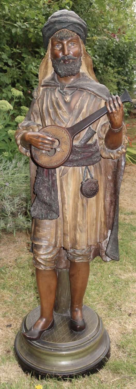 Very large terracotta figure