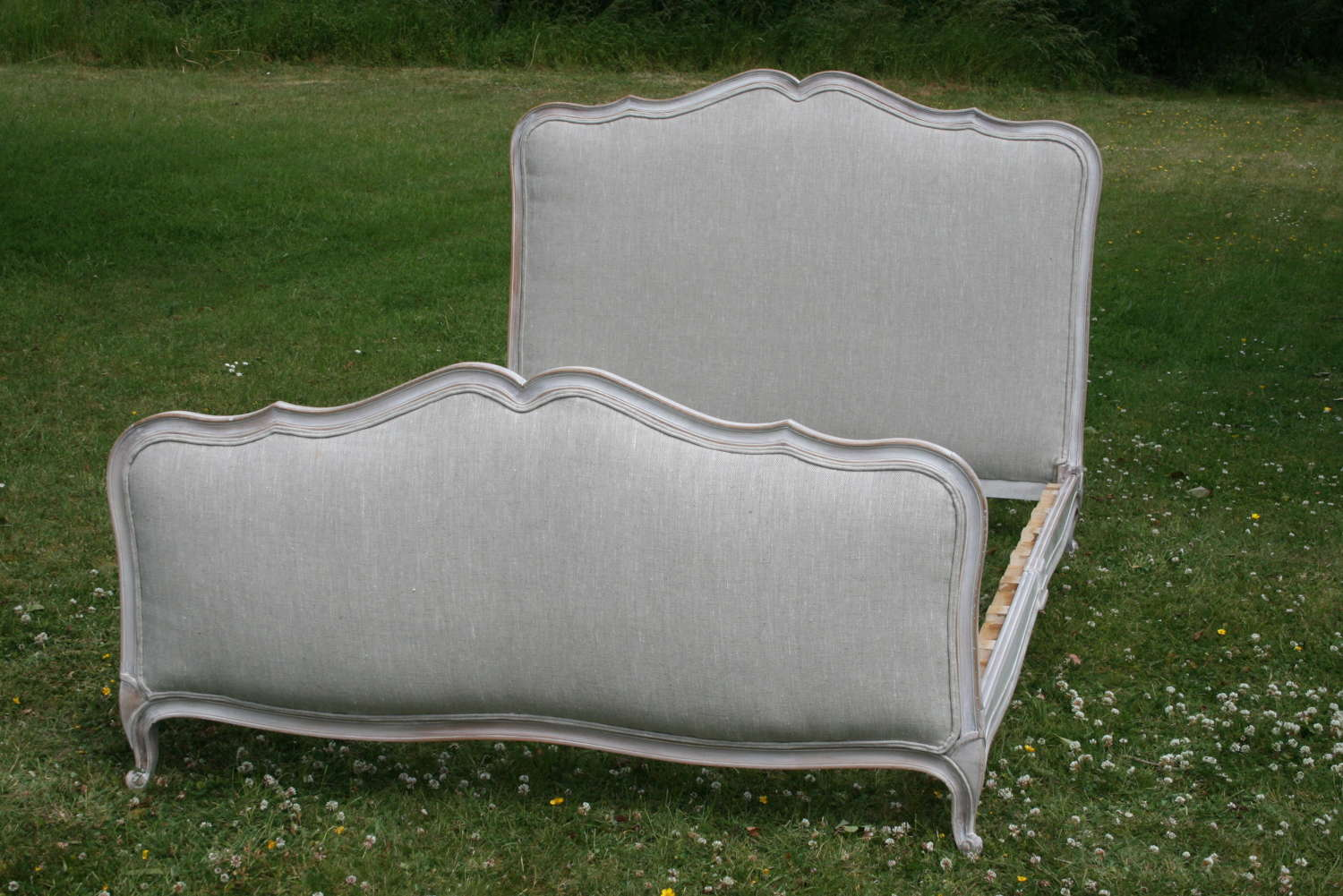 Pretty French Double Bed