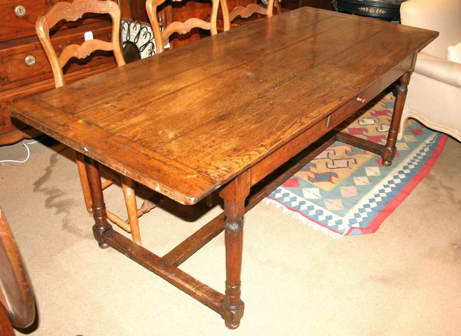 8 Seater Oak Farm Table