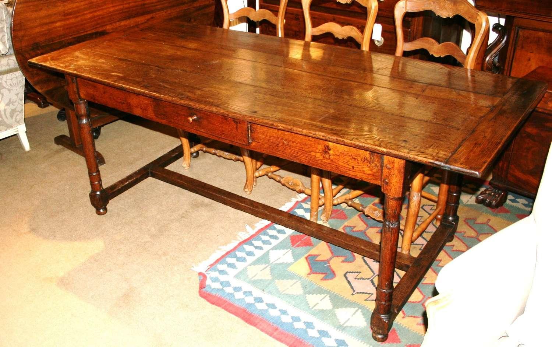 8 Seater Oak Farm Table
