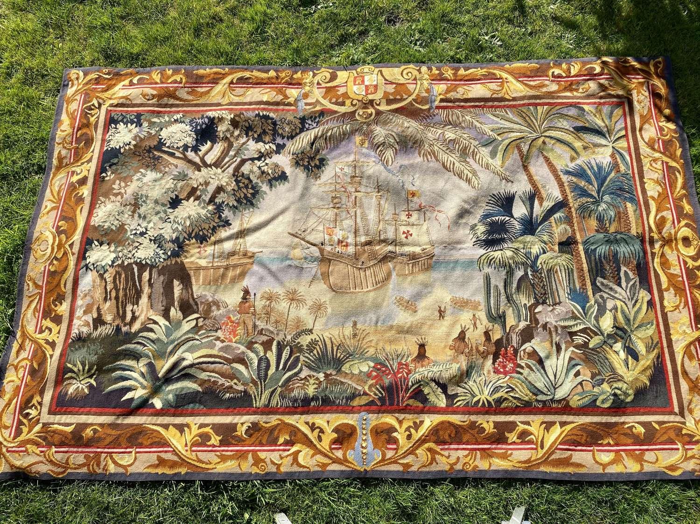 Large Columbus tapestry