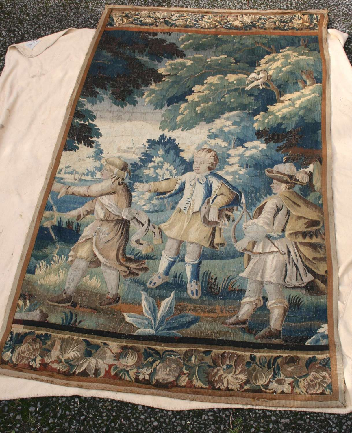 17th century french tapestry