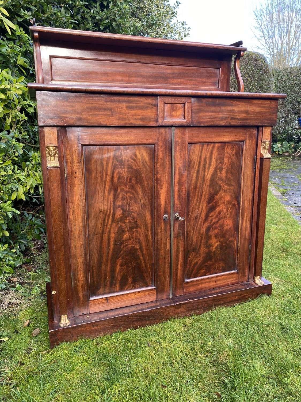 Early 19th Century mahogany chiffonier