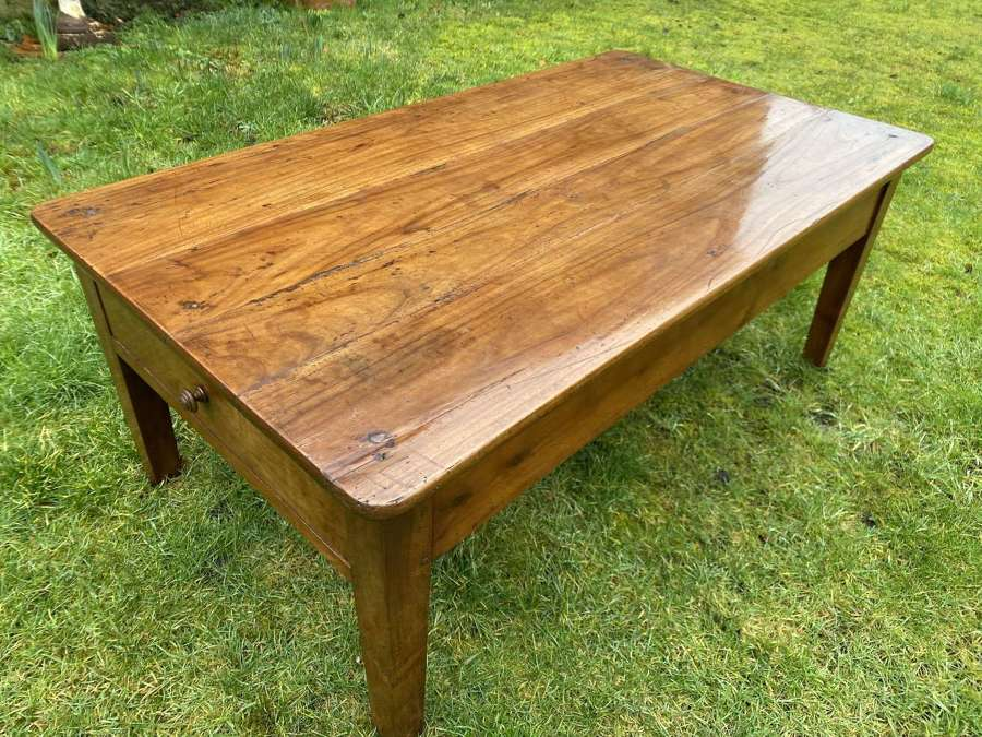 French cherrywood coffee table