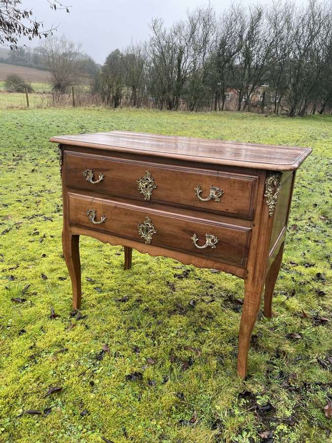 Period French Cherry Wood Commode