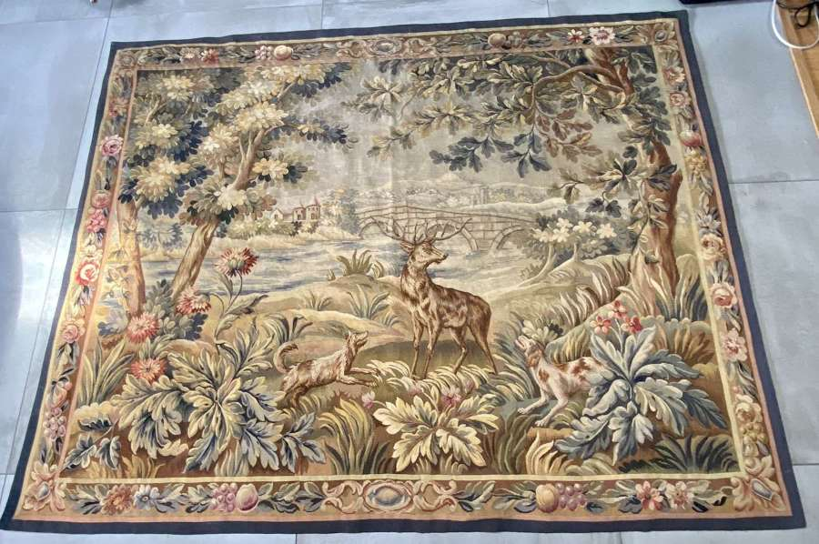 Large 19th Century Tapestry