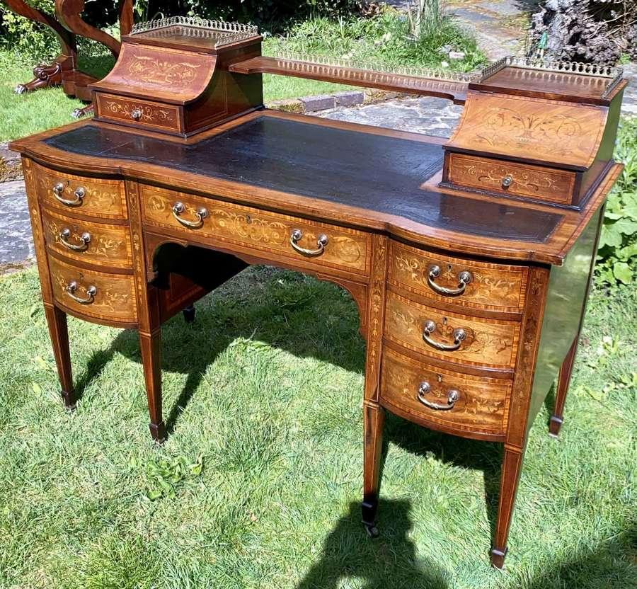 Maples inlaid desk