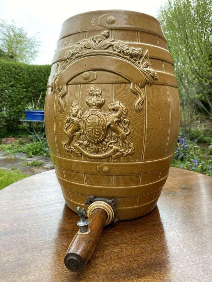 Victorian brandy cask or barrel