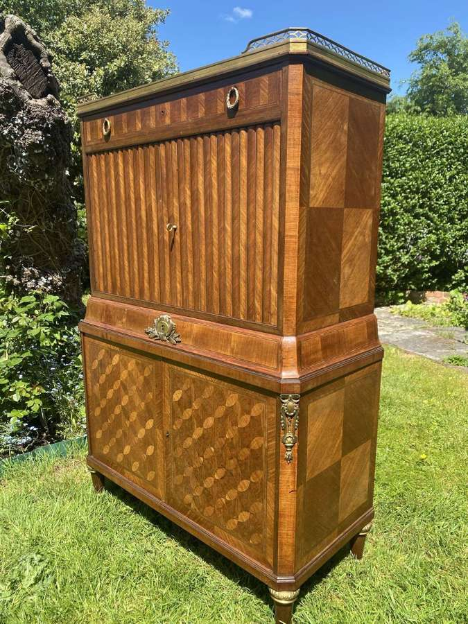 French parquetry cabinet