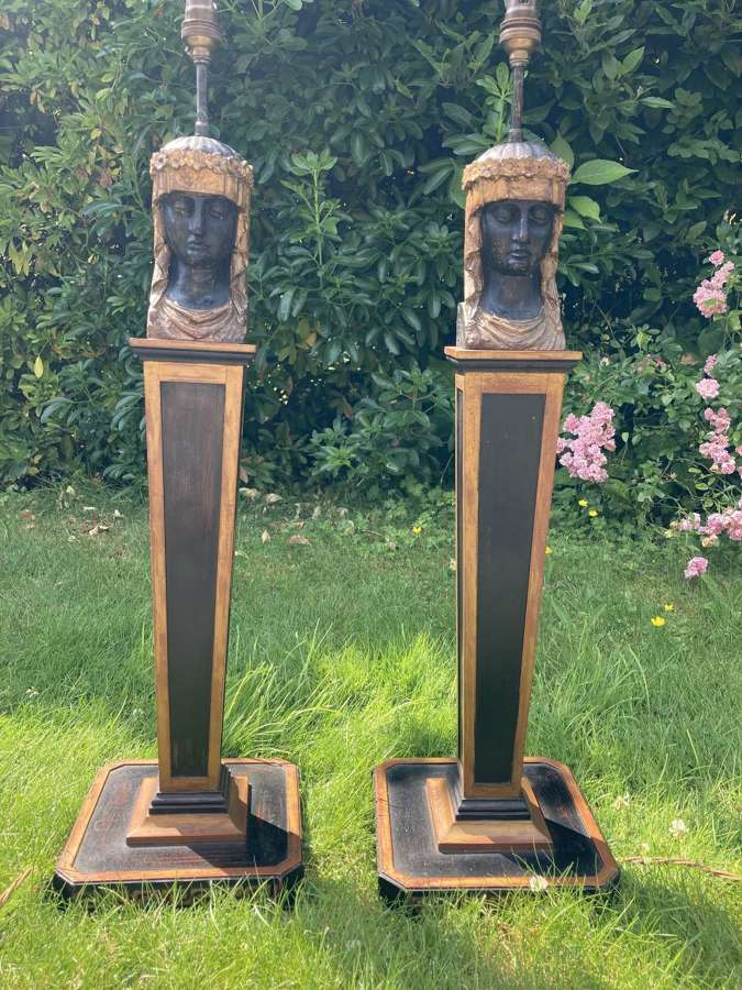 A Pair Of Grand Tour Style Lamps