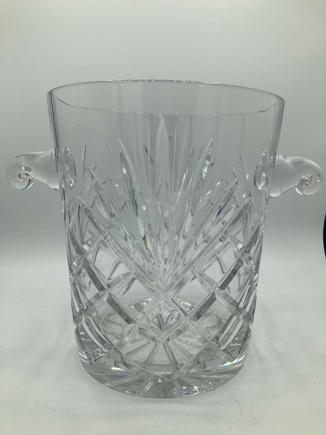 French Crystal Champagne Bucket