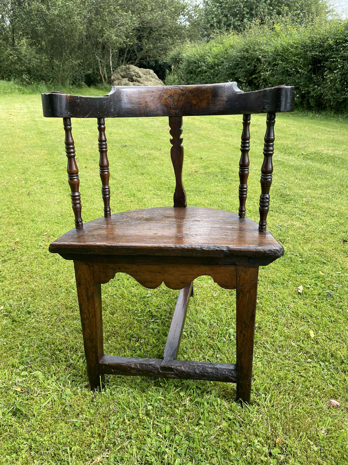 A 17th Century Fruitwood Chair