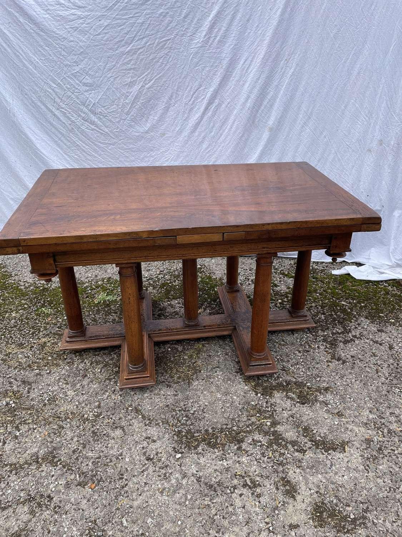 18th Century Walnut Extending Table